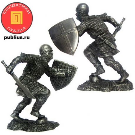 Воин-крестоносец, 12 век (PTS-5318)
