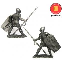 Генуэзский копейщик, 14 век (PTS-5325)