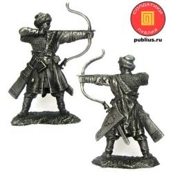 Русский лучник, 14 век (PTS-5330)