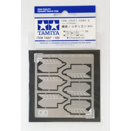 Набор тонких пилок-полотен II толщиной 0,1мм (74097)