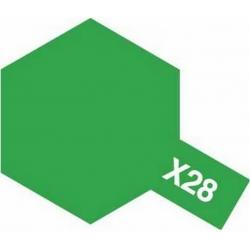 X-28 Park Green gloss, enamel (Травянистый зелёный глянцевый) 10 мл (80028)