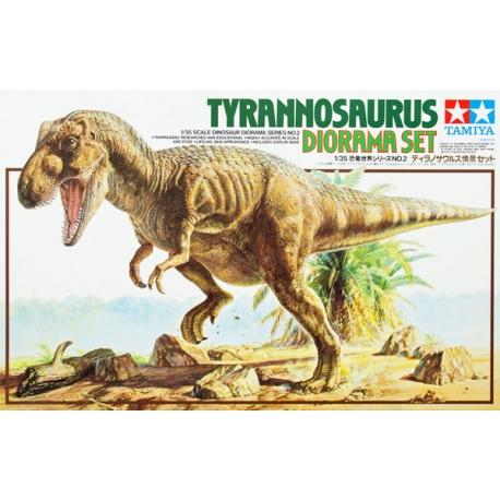 1/35 CHASMOSAURUS DIORAMA SET (60101)