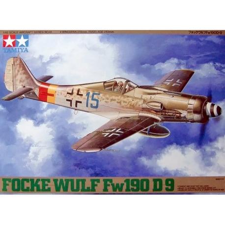 Немецкий истребитель Focke-Wulf Fw190 D-9 (1:48) (61041)