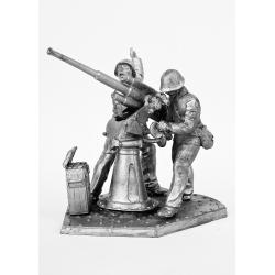Расчет зенитного орудия. Вторая версия (603)