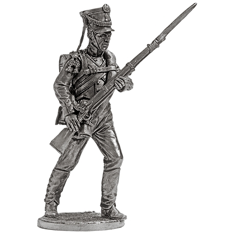 Musketeer of the Yekaterinburg Infantry Regiment. Russia, 1810-12 (NAP-71)