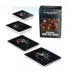 DATACARDS: CHAOS SPACE MARINES 2 (Космодесантники Хаоса 2) 43-02-60