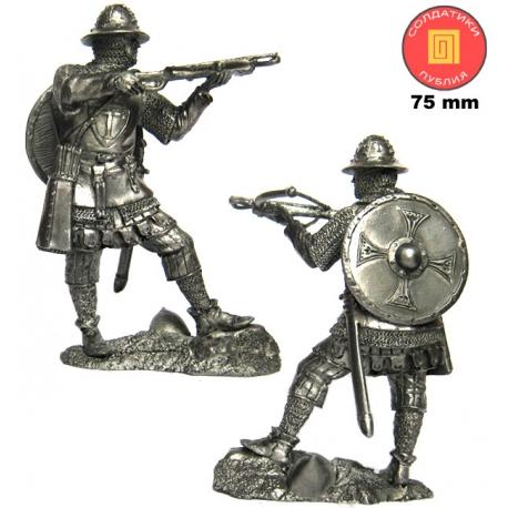 оловянный солдатик миниатюра историческая 75 мм