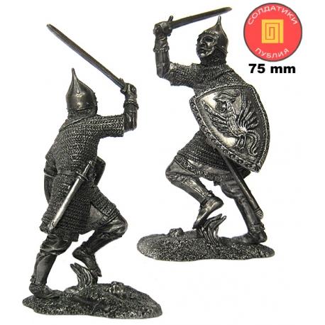 Russian warrior, 13th Century (PTS-75023)