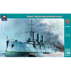 """Aurora"" Russian Navy protected cruiser (1:400)"