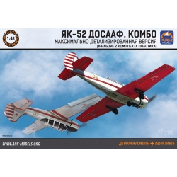 Yakovlev YAK-52 DOSAAF. Combo (1:48) (48018)