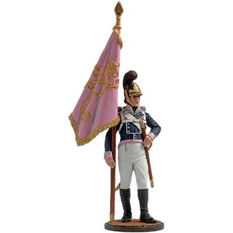 The standard-bearer of the 4th Infantry Regiment von Frankemon. Wurttemberg, 1811–12 (NAP-63)