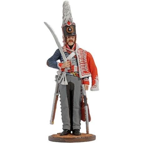 Рядовой Белорусского гусарского полка. Россия, 1805-06 гг. (NAP-66)