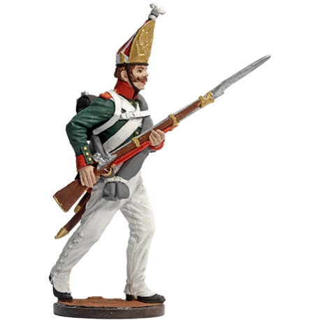 Grenadier of Pavlovsky Grenadier Regiment. Russia, 1811-13 (NAP-67)