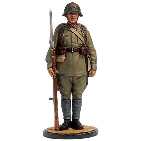 Soviet infantryman. USSR, 1939-1942 (ww2-22)