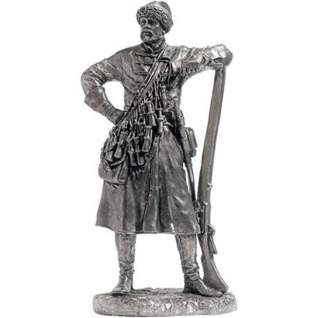 The warrior of the elder squad of the Belozersky princes, 14th century (EK-75-09)