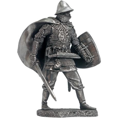 East Slavic warrior in lamellar armor, 11-13 centuries (EK-75-10)