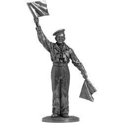 Краснофлотец-сигнальщик ВМФ. СССР, 1941-45 гг. (WW2-39)