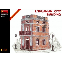 1/35 LITHUANIAN CITY BUILDING (35504)