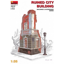 1/35 RUINED CITY BUILDING (35519)