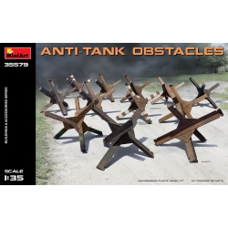 1:35ANTI-TANK OBSTACLES (35579)