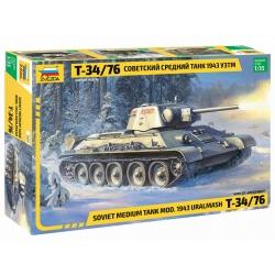 """Советский средний танк """"Т-34/76"""" обр.1943г. УЗТМ (3689)"""