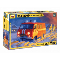 """Fire service UAZ """"3909"""" (43001)"""