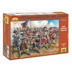 Austrian Musketeers 16-17th Century (8061)