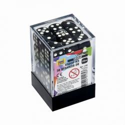 Набор из 36 кубиков D6 (черный) 1134