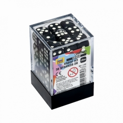 Set of 36 D6 cubes (black) 1134