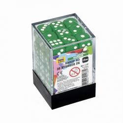 Набор из 36 кубиков D6 (зеленый) 1137