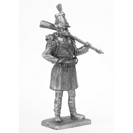 Shooter of the 1st battalion of the Spanish regiment Valencia, 1808 (638)
