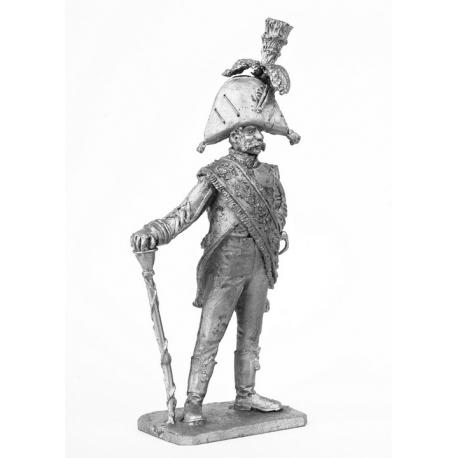 Tambour Major of the Spanish Grenadier Regiment, 1806 (639)