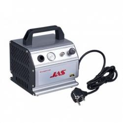 Компрессор JAS, с регулятором давления, автоматика, ресивер 0,3 л (1207)