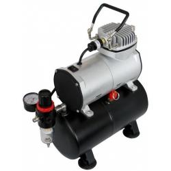 Компрессор JAS, с регулятором давления, автоматика, ресивер (1203)