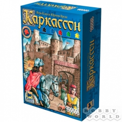 Board game: Carcassonne (2nd Russian ed.), Ref. 1111
