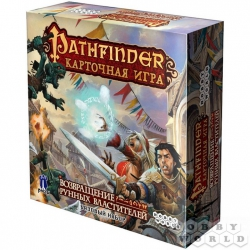 Board game: Pathfinder. Card game. Return of the Rune Rulers. Starter set + addition Burnt offer, art. 1424
