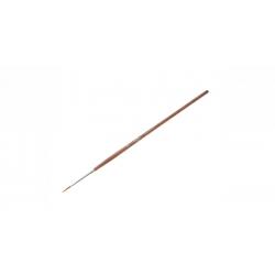 """Кисть """"ГАММА"""" колонок круглая № 2, короткая ручка (4600395223037)"""