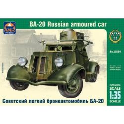 Советский лёгкий бронеавтомобиль БА-20 (35004)