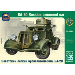 Soviet light armored car BA-20 (35004)