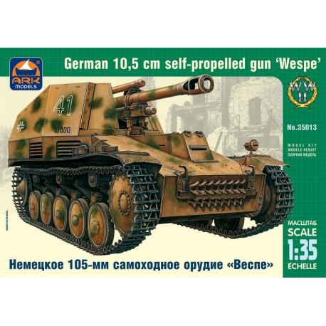 """German 105-mm self-propelled howitzer """"Wespe"""" (35013)"""