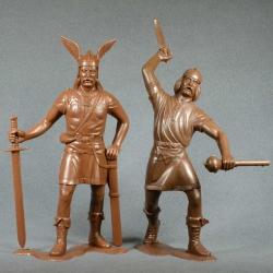 Варвары, набор №2 (2 фигуры 150 мм, светло-коричневые) (80008)