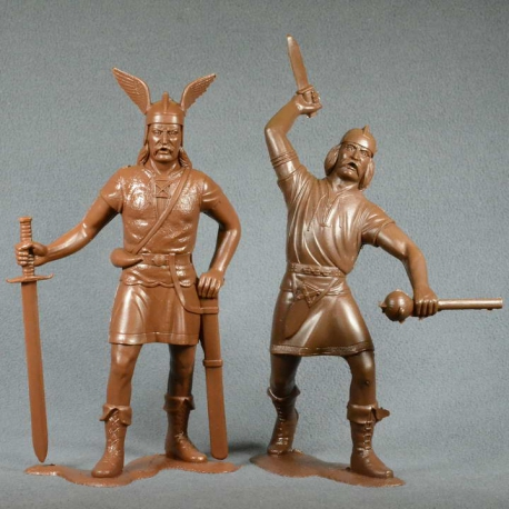 Barbarians, set No. 2 (2 pieces 150 mm, light brown) (80008)