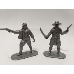 Pirates, two figures (grey)