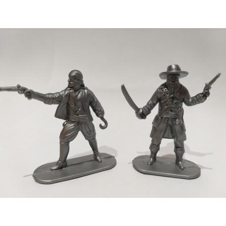 Pirates, two figures (grey)