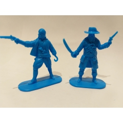 Pirates, two figures (Light blue) 002