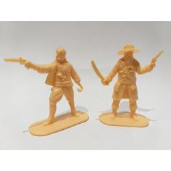 Пираты, 2 фигуры (цвет желтый) 002