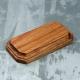 Wooden stand, 100x50x15 mm, oak (2124357)