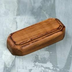 Wooden stand 70х30х15 mm, oak (4336306)