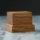 Wooden stand 40х40х20 mm, oak (4336312)