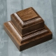 Wooden stand 50х50х40 mm, walnut (4366908)